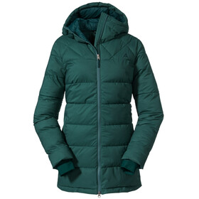 Schöffel Boston Insulated Parka Women mallard green